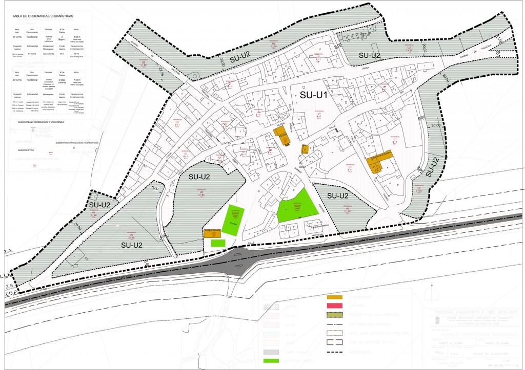 norms urbanisticas carpio avance plano 1