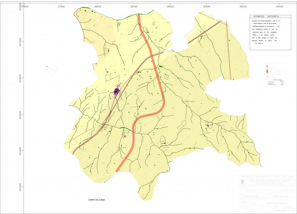 norms urbanisticas carpio avance plano 2