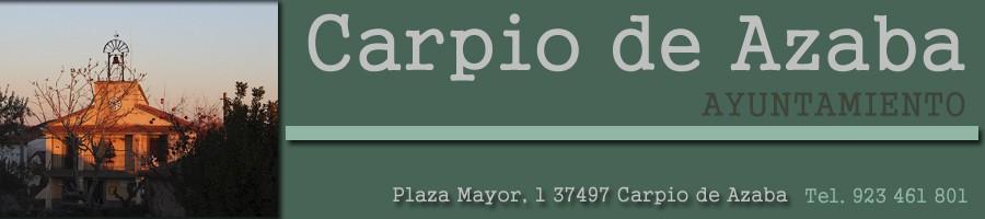 Ayuntamiento de Carpio de Azaba. PÁGINA OFICIAL