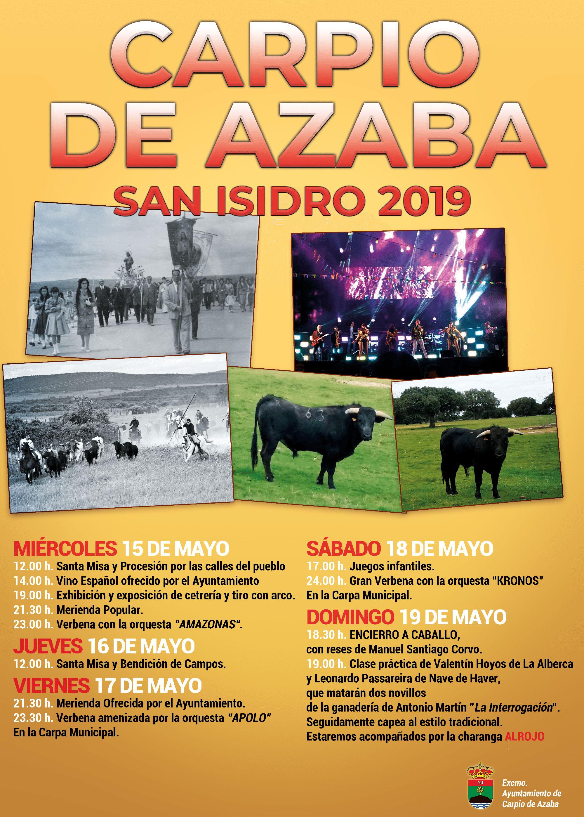 carpio fiestas 2019
